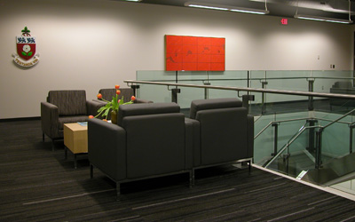 kaneff tower sitting area